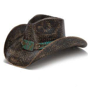 Blue Cross Stampede Hat